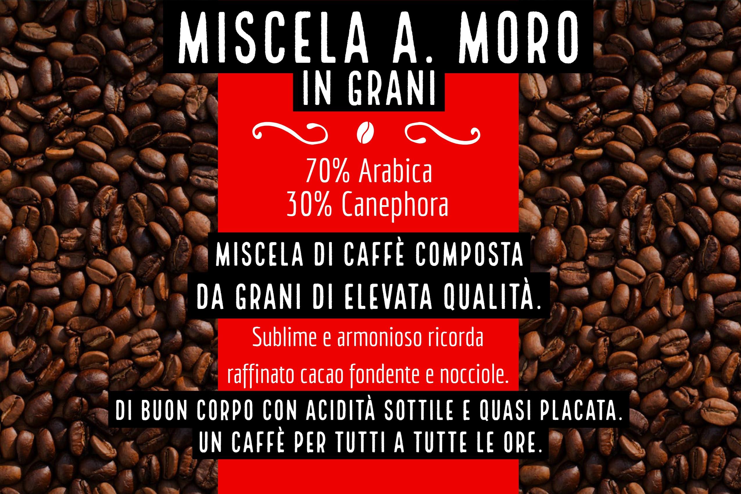 Caffè Moro cosa facciamo